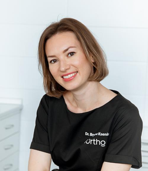 Брылина Ксения Александровна Врач-стоматолог ортодонт. Главный врач клиники на Луковом переулке